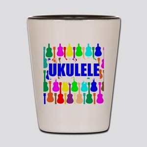 Rainbow Ukulele Shot Glass