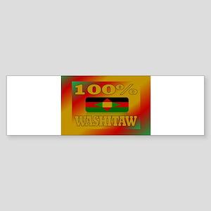 100% Washitaw Sticker (Bumper)