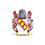Pischoff Sticker (Rectangle 50 pk)