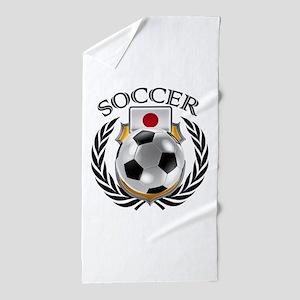 Japan Soccer Fan Beach Towel