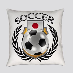 Japan Soccer Fan Everyday Pillow