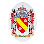Pirolini Oval Ornament