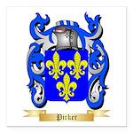 Pirker Square Car Magnet 3