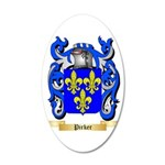 Pirker 35x21 Oval Wall Decal