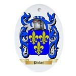 Pirker Oval Ornament