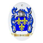 Pirk Oval Ornament