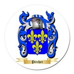 Pircher Round Car Magnet