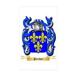 Pircher Sticker (Rectangle 50 pk)