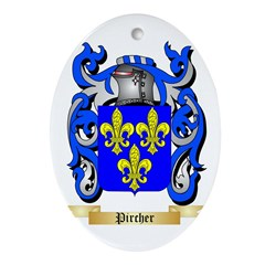 Pircher Oval Ornament