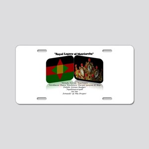 Royal Legacy Aluminum License Plate