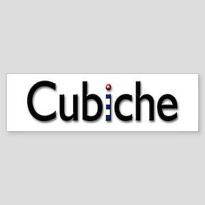 Cubiche Bumper Sticker