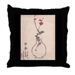 Chinese Painting Throw Pillow