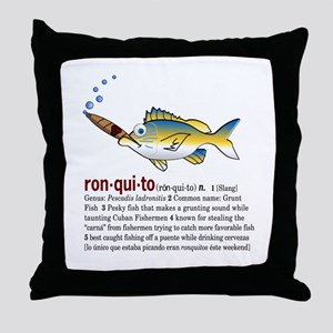 Ronquitos Throw Pillow