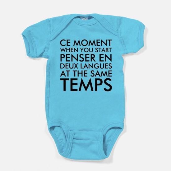Cute Languages Baby Bodysuit