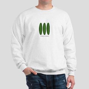 Me Importa Tres Pepinos Sweatshirt