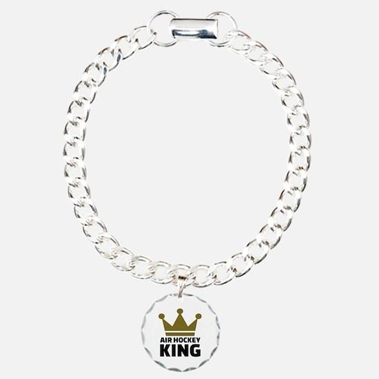 Air hockey King Bracelet