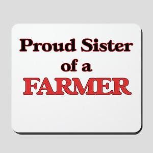 Proud Sister of a Farmer Mousepad
