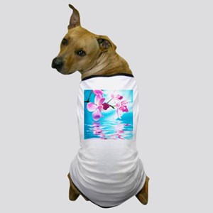Beautiful Orchids Dog T-Shirt