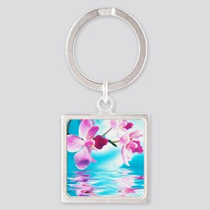 Beautiful Orchids Keychains