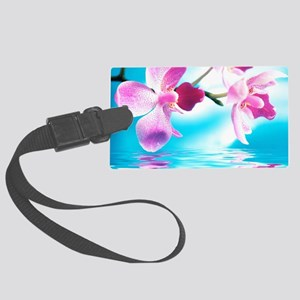 Beautiful Orchids Luggage Tag