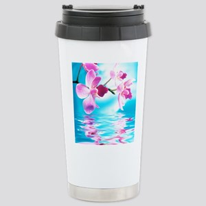 Beautiful Orchids Travel Mug