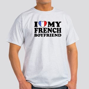 I Love My French Boyfriend Light T-Shirt
