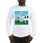 Timmy Cow Fetch Long Sleeve T-Shirt