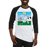 Timmy Cow Fetch Baseball Jersey