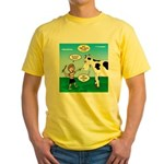Timmy Cow Fetch Yellow T-Shirt