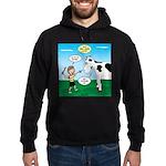 Timmy Cow Fetch Hoodie (dark)