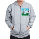 Timmy Cow Fetch Zip Hoodie
