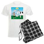 Timmy Cow Fetch Men's Light Pajamas