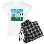 Timmy Cow Fetch Women's Light Pajamas