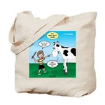 Timmy Cow Fetch Tote Bag