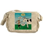 Timmy Cow Fetch Messenger Bag