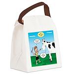 Timmy Cow Fetch Canvas Lunch Bag
