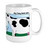 Timmy Cow Fetch Large Mug