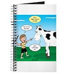 Timmy Cow Fetch Journal