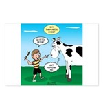 Timmy Cow Fetch Postcards (Package of 8)