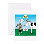 Timmy Cow Fetch Greeting Cards (Pk of 10)