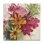 Harvest Bouquet Tile Coaster