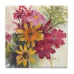 Harvest Bouquet Tile Coaster