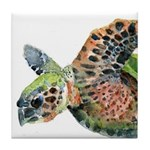 Sea Turtle 5 Tile Coaster
