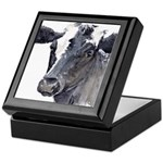 Black Cow Keepsake Box