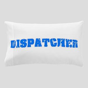 Dispatcher Blue Bold Design Pillow Case