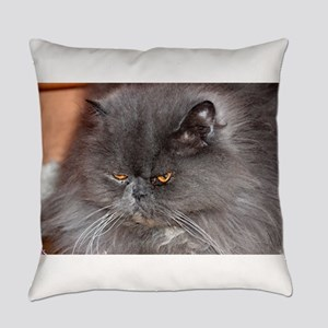 persian blue Everyday Pillow