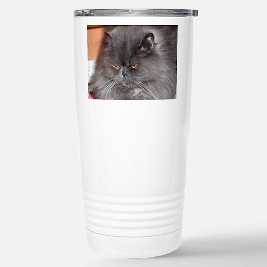 persian blue Travel Mug