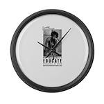 SHARON THOMAS Large Wall Clock