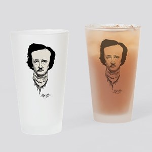 Signed Poe Drinking Glass