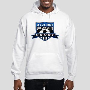 Azzurri Logo Hoodie Hooded Sweatshirt